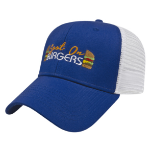 Stretch-Fit Mesh Back Cap