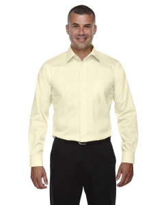 Devon & Jones® Men's Crown Woven Collection™ Solid Stretch Twill