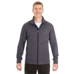 North End® Men's Amplify Melange Fleece Jacket