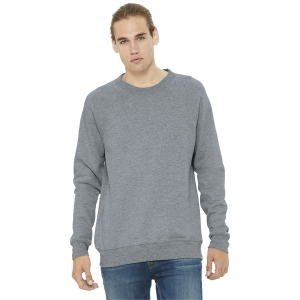 BELLA+CANVAS® Unisex Sponge Fleece Raglan Sweatshirt
