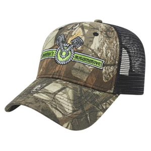 Solid Color Mesh Back Next G2™ Camo Cap