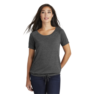 New Era® Ladies Tri-Blend Performance Cinch Tee